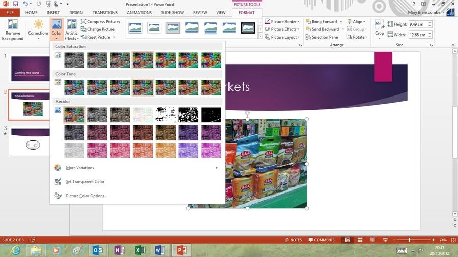 как сделать в powerpoint обтекание картинки текстом