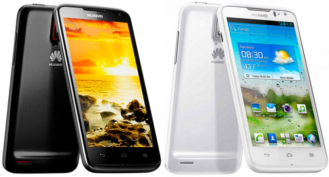 Huawei Ascend D Quad: Black & White