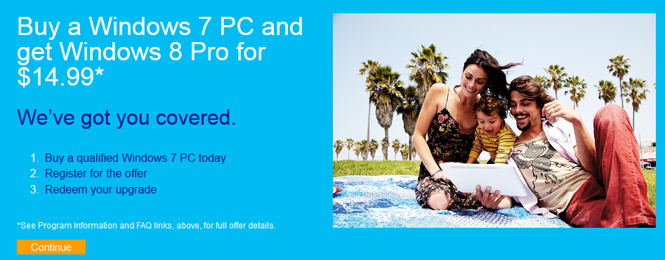 Windows Upgrade Offer