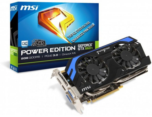 MSI GeForce GTX 660 Ti Power Edition