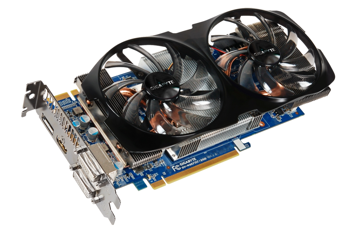 Gigabyte GTX 660 Ti OC WindForce 2X