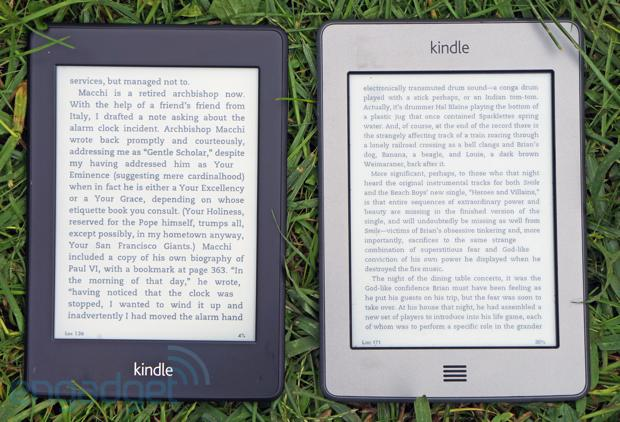 Paperwhite ����� � Kindle Touch ����������� ���������