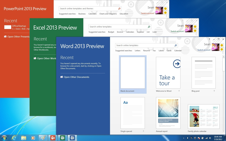 Превью  Microsoft Office Профессиональный плюс