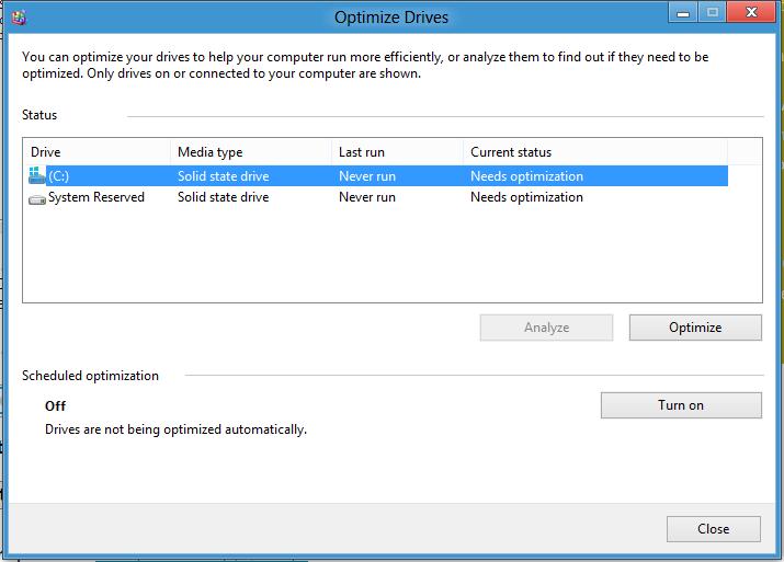 Почему нельзя дефрагментировать ssd диск